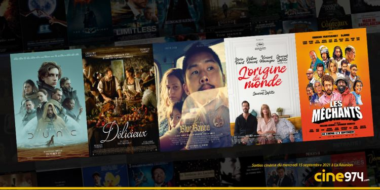 Sorties cinéma de la semaine du mercredi 15 Septembre à La Réunion 🇷🇪