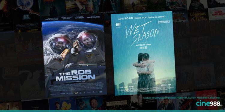News Cinéma Sorties cinéma de la semaine du mercredi 17 février 2021 en Nouvelle-Calédonie
