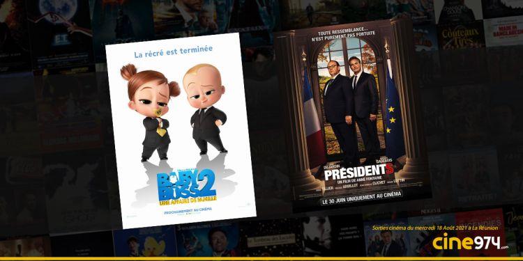 Sorties cinéma de la semaine du mercredi 18 août à La Réunion 🇷🇪