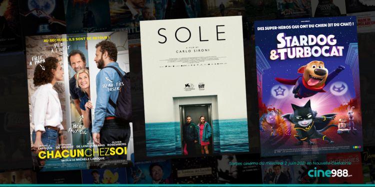 News Cinéma Sorties cinéma de la semaine du mercredi 2 juin en Nouvelle-Calédonie