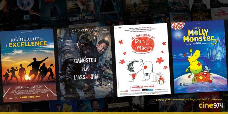 Sorties cinéma de la semaine du mercredi 20 janvier 2021 au cinéma à La Réunion 🇷🇪