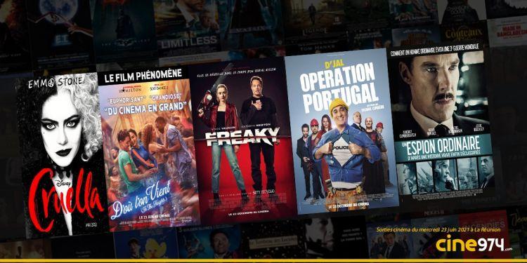 Sorties cinéma de la semaine du mercredi 23 juin à La Réunion 🇷🇪