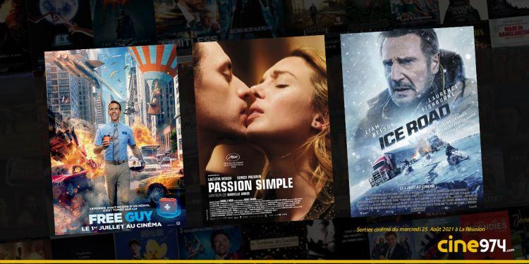 Sorties cinéma de la semaine du mercredi 25 août à La Réunion 🇷🇪