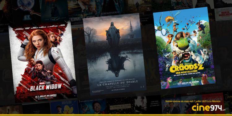 Sorties cinéma de la semaine du mercredi 7 juillet à La Réunion 🇷🇪