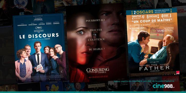 News Cinéma Sorties cinéma de la semaine du mercredi 9 juin en Nouvelle-Calédonie