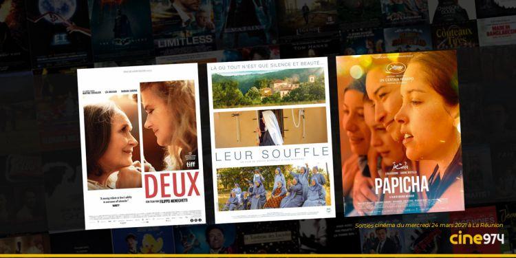 Sorties cinéma et programme de la semaine du mercredi 24 mars 2021 à La Réunion