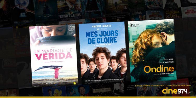 Sorties cinéma et programme de la semaine du mercredi 31 mars 2021 à La Réunion