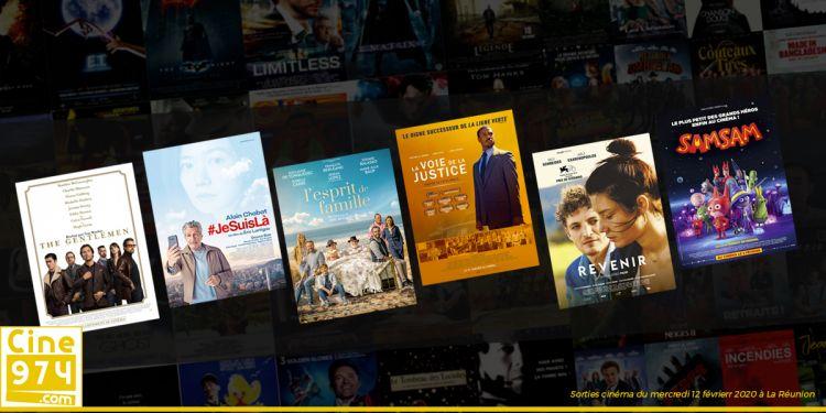 Sorties et Programme Cinéma de la semaine du mercredi 12 février 2020 à La Réunion