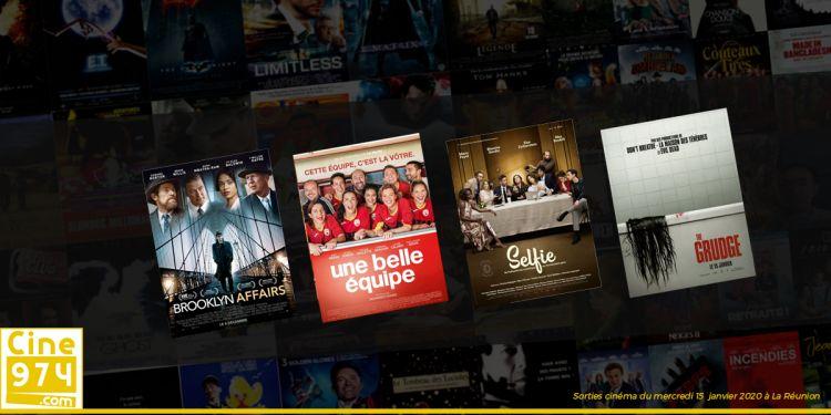 Sorties et Programme Cinéma de la semaine du mercredi 15 janvier 2020 à La Réunion