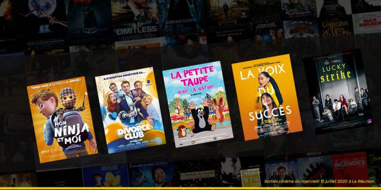 Sorties et Programme Cinéma de la semaine du mercredi 15 juillet 2020 à La Reunion