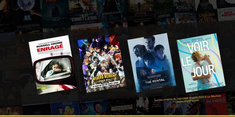 Sorties et Programme Cinéma de la semaine du mercredi 19 août 2020 à La Reunion