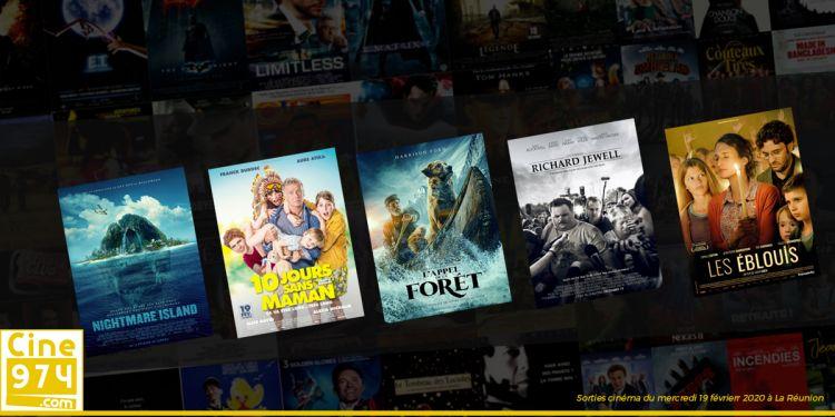 Sorties et Programme Cinéma de la semaine du mercredi 19 février 2020 à La Reunion