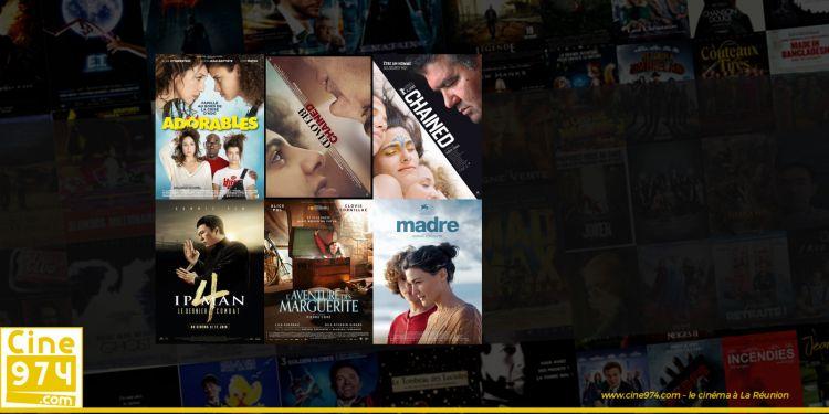 Sorties et Programme Cinéma de la semaine du mercredi 22 juillet 2020 à La Reunion