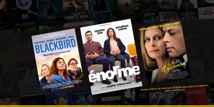 Sorties et Programme Cinéma de la semaine du mercredi 23 septembre 2020 à La Réunion