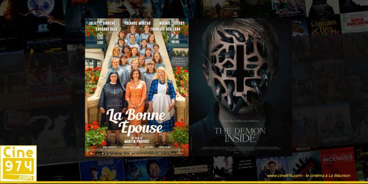 Sorties et Programme Cinéma de la semaine du mercredi 24 juin 2020 à La Reunion