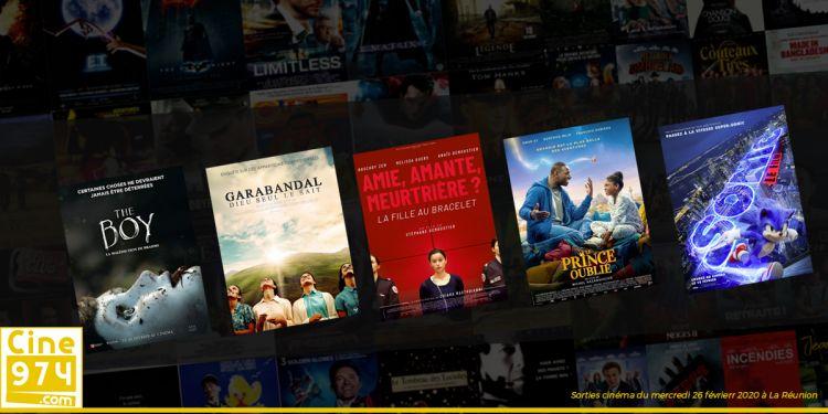 Sorties et Programme Cinéma de la semaine du mercredi 26 février 2020 à La Reunion