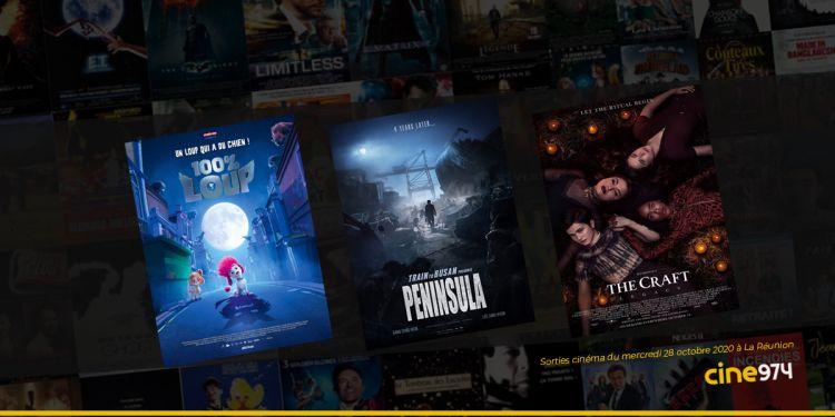 Sorties et Programme Cinéma de la semaine du mercredi 28 octobre 2020 à La Réunion
