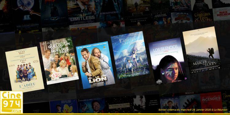 Sorties et Programme Cinéma de la semaine du mercredi 29 janvier 2020 à La Réunion
