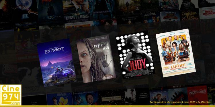 Sorties et Programme Cinéma de la semaine du mercredi 4 mars 2020 à La Reunion