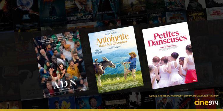 Sorties et Programme Cinéma de la semaine du mercredi 4 novembre 2020 à La Réunion