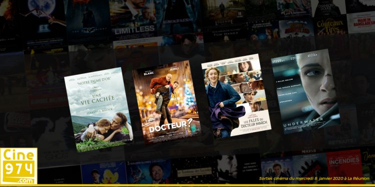 Sorties et Programme Cinéma de la semaine du mercredi 8 janvier 2020 à La Réunion