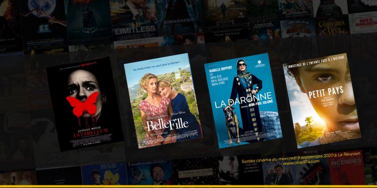 Sorties et Programme Cinéma de la semaine du mercredi 9 septembre 2020 à La Reunion