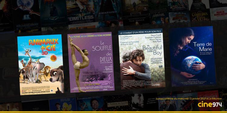 Sorties et Programme Cinéma du mercredi 13 janvier 2021 à La Réunion