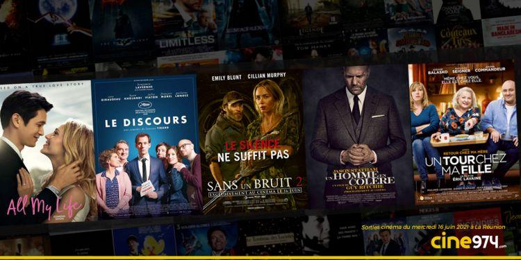 Sorties et programme cinéma du mercredi 16 juin 2021 à La Réunion 🇷🇪