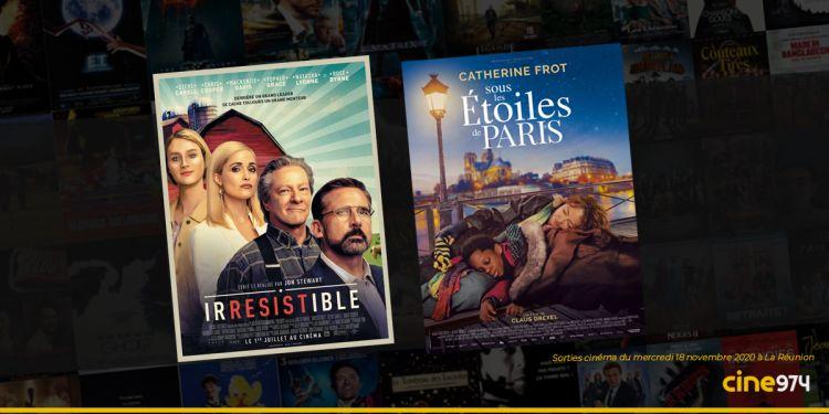 Sorties et Programme Cinéma du mercredi 18 novembre 2020 à La Réunion
