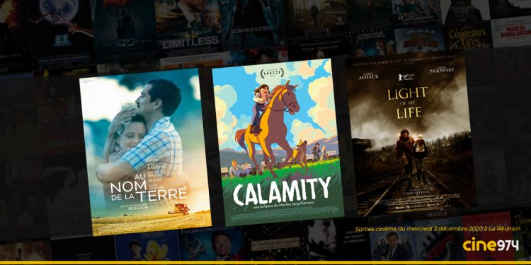 Sorties et Programme Cinéma du mercredi 2 décembre 2020 à La Réunion