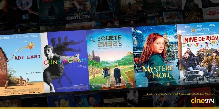 Sorties et Programme Cinéma du mercredi 9 décembre 2020 à La Réunion