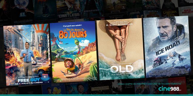 News Cinéma Sorties et programme cinema du mercredi 11 août en Nouvelle-Calédonie 🇳🇨