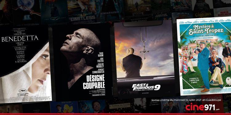 News Cinéma Sorties et programme cinema du mercredi 14 juillet en Guadeloupe 🇬🇵