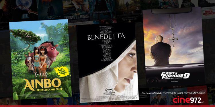 News Cinéma Sorties et programme cinema du mercredi 14 juillet en Martinique 🇲🇶