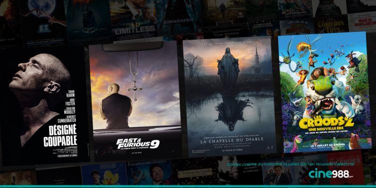 News Cinéma Sorties et programme cinema du mercredi 14 juillet en Nouvelle-Calédonie 🇳🇨