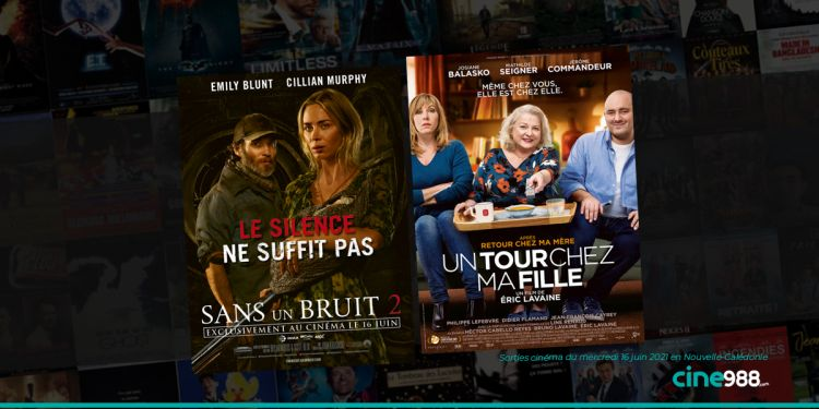 News Cinéma Sorties et programme cinema du mercredi 16 juin en Nouvelle-Calédonie 🇳🇨