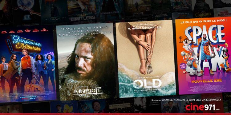 News Cinéma Sorties et programme cinema du mercredi 21 juillet en Guadeloupe 🇬🇵