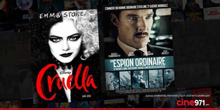 News Cinéma Sorties et programme cinema du mercredi 23 juin en Guadeloupe 🇬🇵