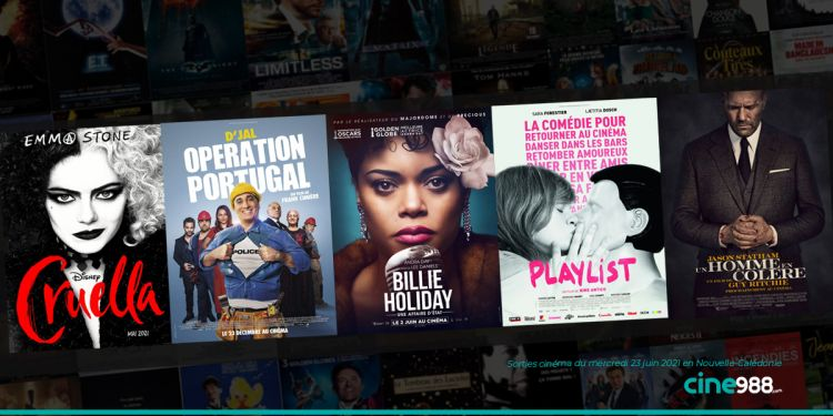 News Cinéma Sorties et programme cinema du mercredi 23 juin en Nouvelle-Calédonie 🇳🇨