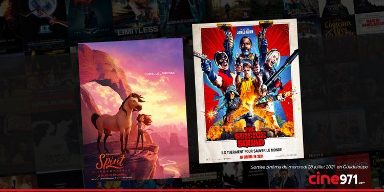 News Cinéma Sorties et programme cinema du mercredi 28 juillet en Guadeloupe 🇬🇵