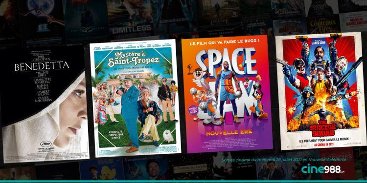 News Cinéma Sorties et programme cinema du mercredi 28 juillet en Nouvelle-Calédonie 🇳🇨