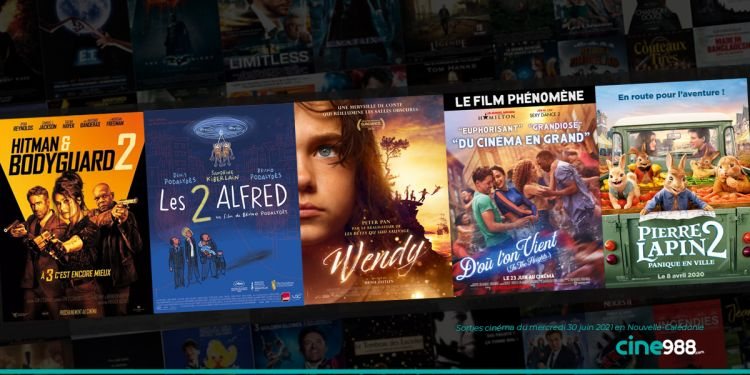 News Cinéma Sorties et programme cinema du mercredi 30 juin en Nouvelle-Calédonie 🇳🇨