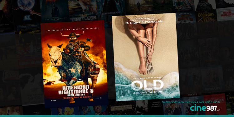 News Cinéma Sorties et programme cinema du mercredi 4 août à Tahiti 🇵🇫