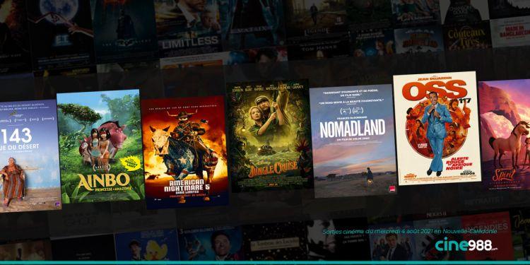 News Cinéma Sorties et programme cinema du mercredi 4 août en Nouvelle-Calédonie 🇳🇨