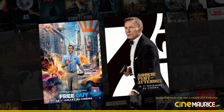 News Cinéma Sorties et programme cinema du mercredi 6 octobre à Maurice 🇲🇺