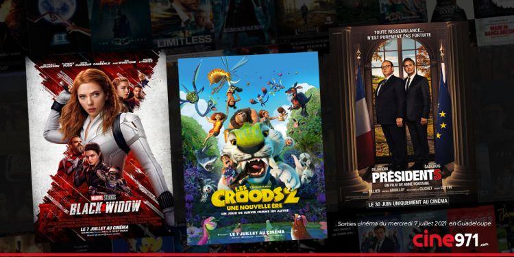 News Cinéma Sorties et programme cinema du mercredi 7 juillet en Guadeloupe 🇬🇵