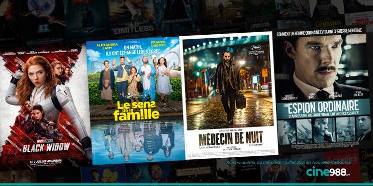 News Cinéma Sorties et programme cinema du mercredi 7 juillet en Nouvelle-Calédonie 🇳🇨