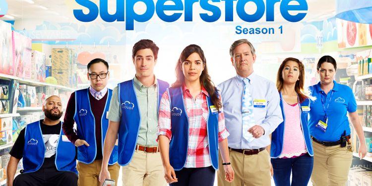 News Cinéma Superstore la série hilarante a l'intérieur d'un hypermarché.