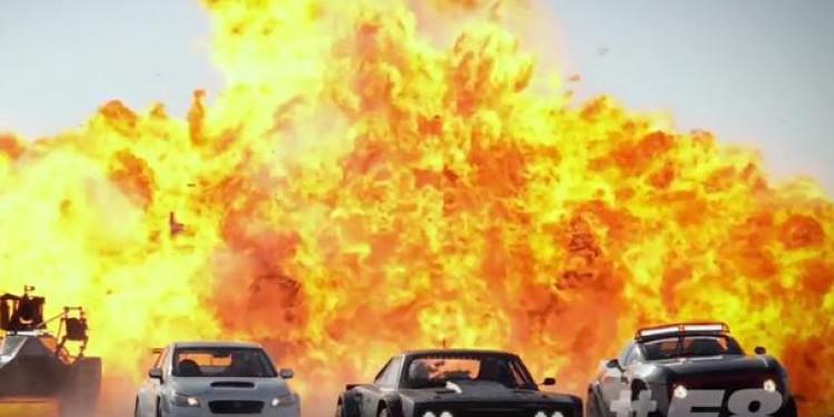 Sur le tournage de Fast & Furious 8