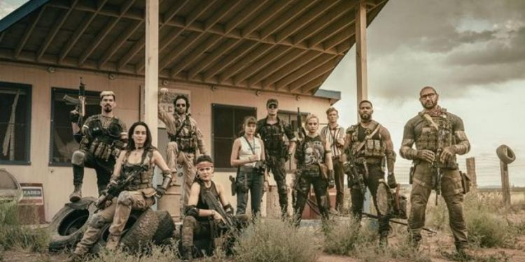 Teaser Army of the dead de Zack Snyder.